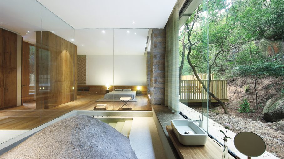 fmx interior design co xiamen china kitchen bath open plan glass box