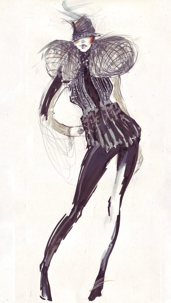 Ilustratie de moda