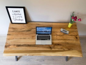 Rustic Office Wood Top