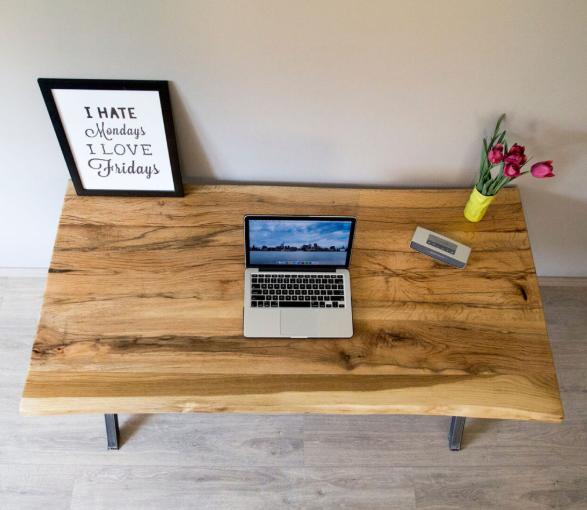 rustiq office wood top
