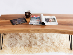 Walnut Coffee Table Live Edge