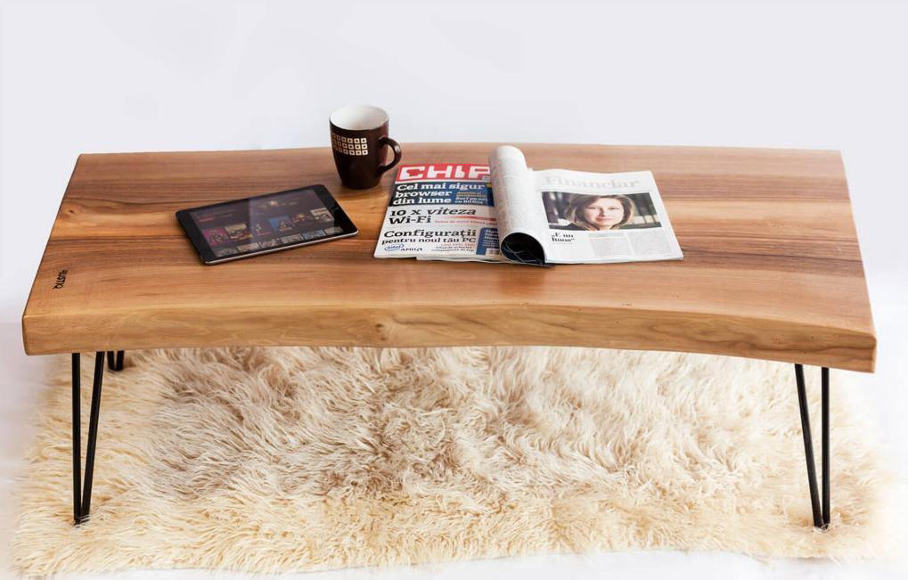 Walnut Coffee Table Live Edge