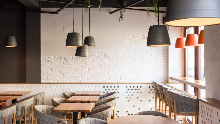 Mobilier HORECA - amenajare cafenea