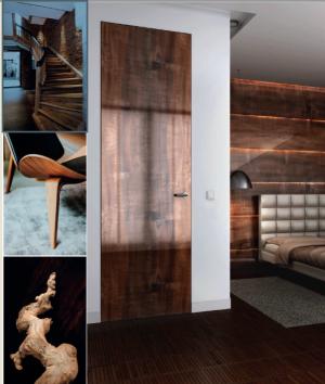 Dormitor modern – linia lemn