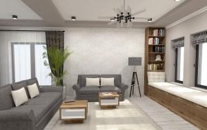 Design interior living si bucatarie