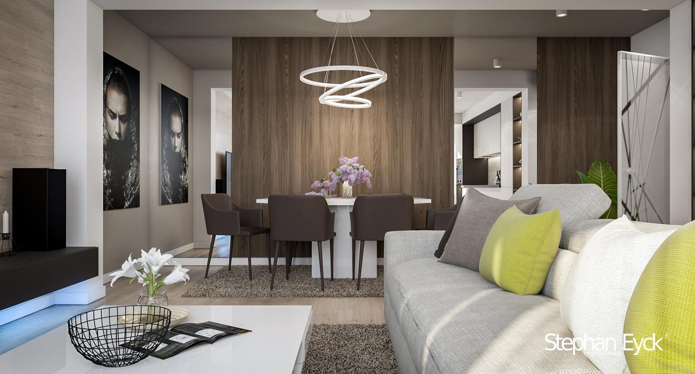 livingroom Apartament 3 camere - Bucuresti