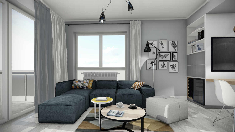 AMENAJARE - living modern