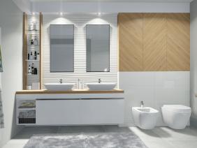 AMENAJARE – eclectic bathroom