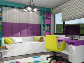 AMENAJARE – dormitor pentru o fetita