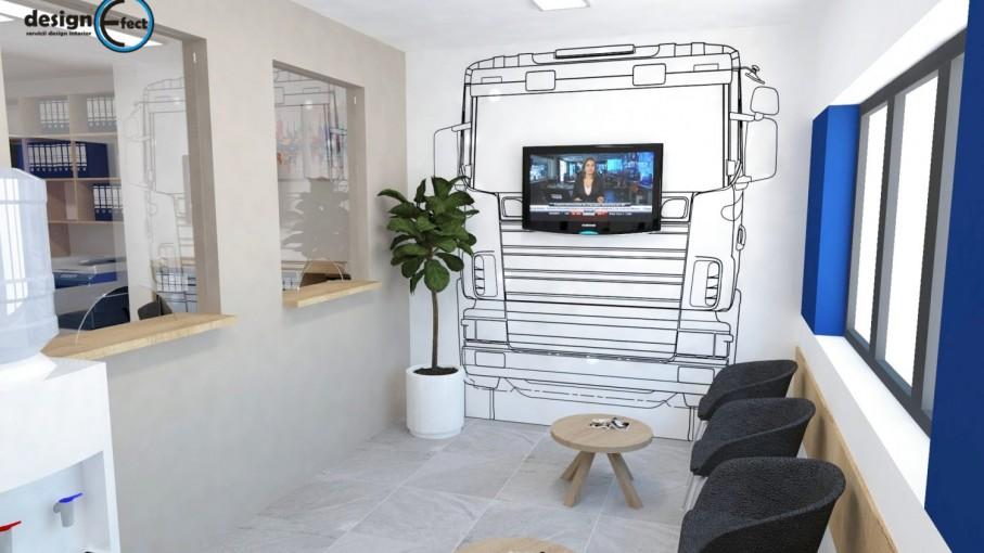 Design interior spatii birouri