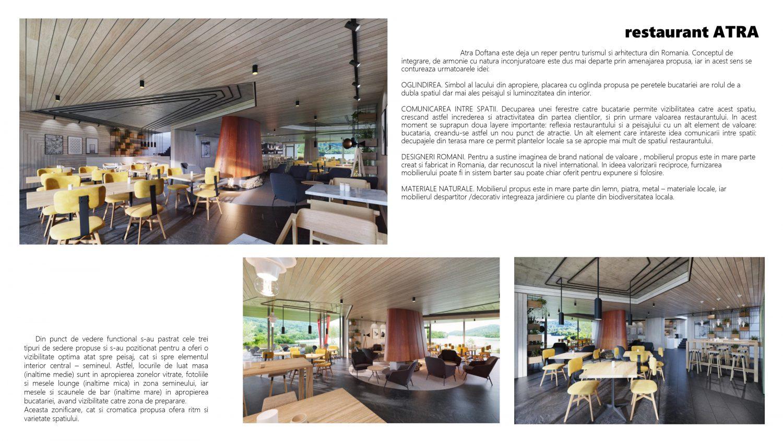 restaurant ATRA 1