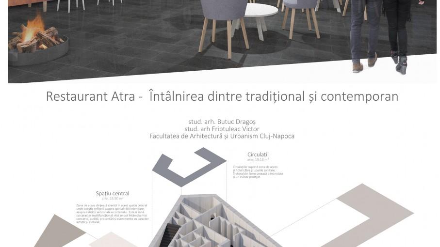 Restaurant Atra - Întâlnirea dintre tradițional și contemporan