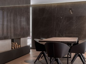 Placi ceramice porcelanate Urbatek: XLIGHT SAVAGE DARK