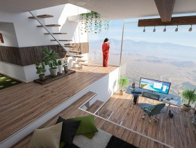 Home ofice view